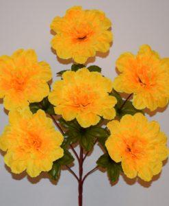 Искусственные цветы —Гортензия красна нога 6-ка R-379