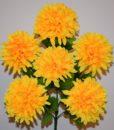 Искусственные цветы —Шар атласный крупный 6-ка R-397