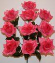 Искусственный цветок — Роза острая 10-ка R-525