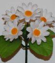Искусственный цветок -заливка Ромашка цветная 5-ка Z-48
