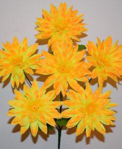 Искусственные цветы —Астра цветная 6-ка R-398