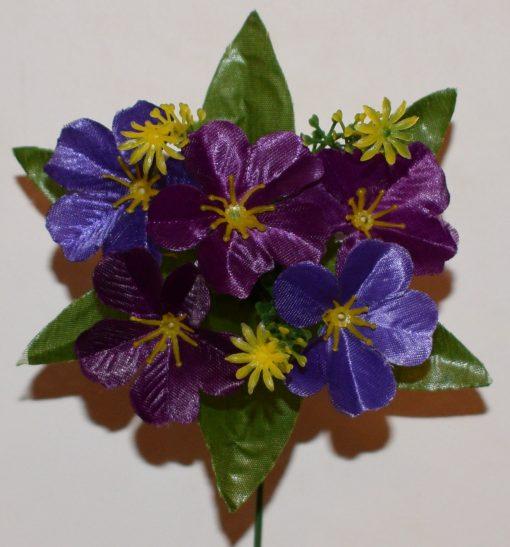 Искусственный цветок -Примула атласная 5-ка Z-88