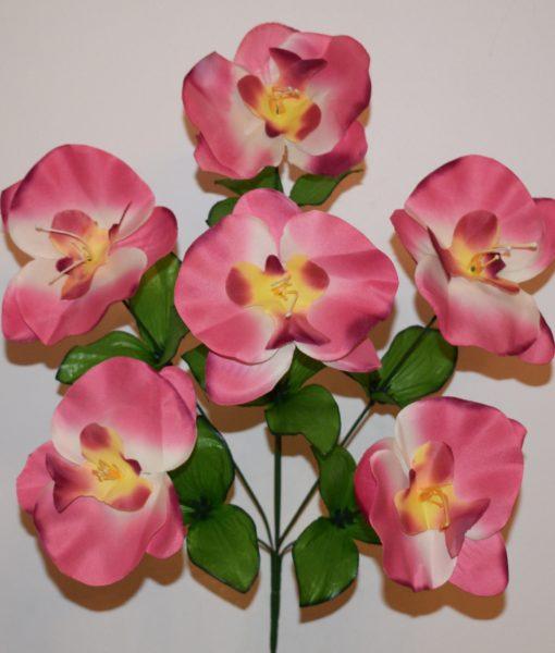 Искусственные цветы —Орхидейка цветок R-410