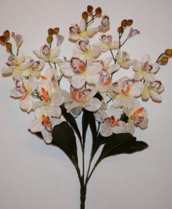 Искусственные цветы —Ирис натуральный 5 веток R-408
