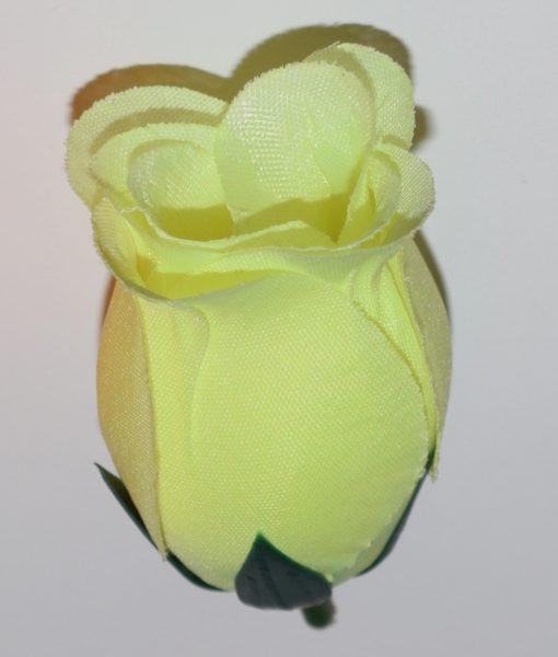Искусственные цветы- Головка бутон атлас непрес G-57