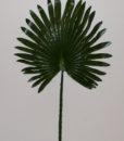 Искусственные цветы-Пальма лист крупный L-27