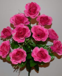 Искусственные цветы —Роза натуральна с пластмаской R-430