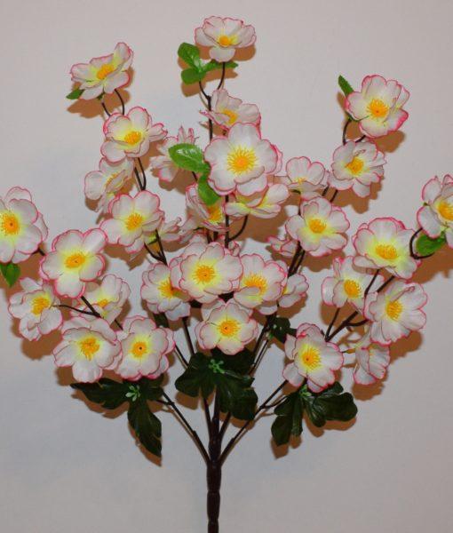Искусственные цветы —Сакура новая 5 веток R-613