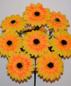 Искусственные цветы —Подсолнух новый 9-ка R-452