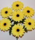 Искусственные цветы —Гербера букет 7-ка R-455