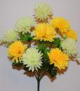Искусственные цветы —Шарик-хризантема 10-ка R-453