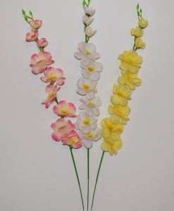 Искусственные цветы- Ветка Яблочный цвет B-48