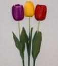 Искусственные цветы- Ветка Тюльпан большой B-56