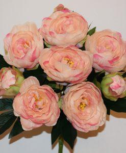 Искусственные цветы -Пион натуральный непрес R-548