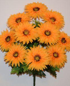 Искусственные цветы -Майоры 11 голов R-470