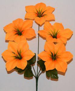 Искусственные цветы -Лилийка 5-ка R-471