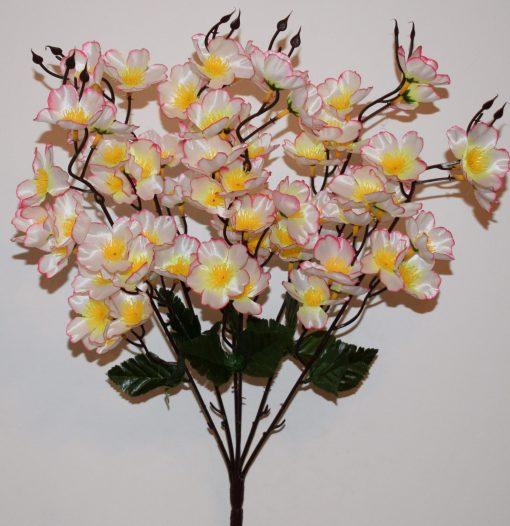 Искусственные цветы -Сакура большая 6 веток R-861
