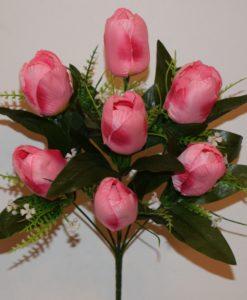 Искусственные цветы —Тюльпан 7-ка непресовка R-508