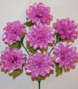 Искусственные цветы-Крокус-шар атласный 7-ка R-634