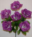 Искусственные цветы —Роза открытая 6-ка R-519