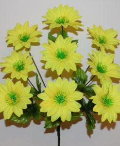 Искусственные цветы - Астра с прысыпкой 9-ка R-133