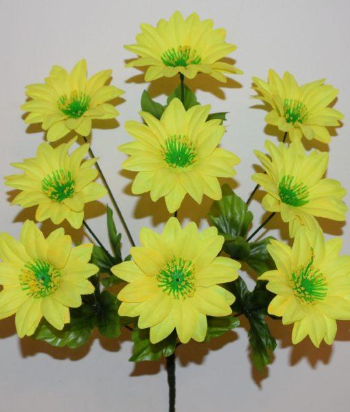 Искусственные цветы — Астра с прысыпкой 9-ка R-133