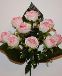 Искусственный цветок - Бутон кучерявый атлас R-9