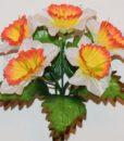 Искусственные цветы-Заливка Нарцис крупный Z-57