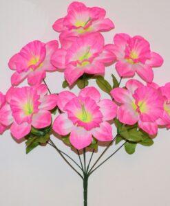 Искусственные цветы-Нарцис атласный большой 9-ка R-719