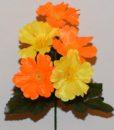 Искусственные цветы-Заливка Мальва цветная Z-59