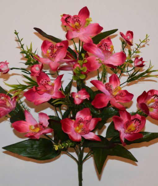 Искусственные цветы — Ирис натуральный 11-ка непрес R-549