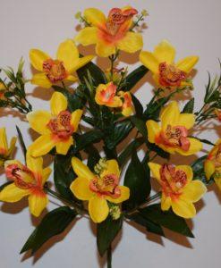Искусственные цветы - Ирис натуральный 11-ка непрес R-549