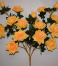 Искусственный цветок — Роза дерево 16-ти головая R-554
