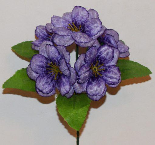 Искусственные цветы-Мальва перламутр Z-66