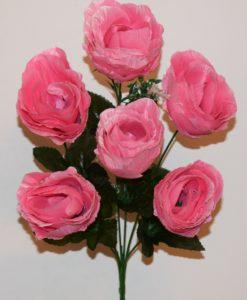 Искусственные цветы-Роза бутон атласная R-478