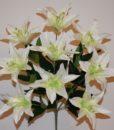 Искусственные цветы -Лилия гигант люкс-клас непрес R-864