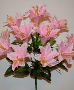 Искусственные цветы -Лилия большая 11-ка R-546