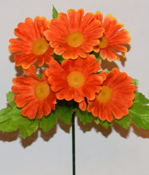 Искусственные цветы-Ромашка 6-ка Z-67