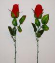 Искусственные цветы- Ветка Бутон бархатный B-62