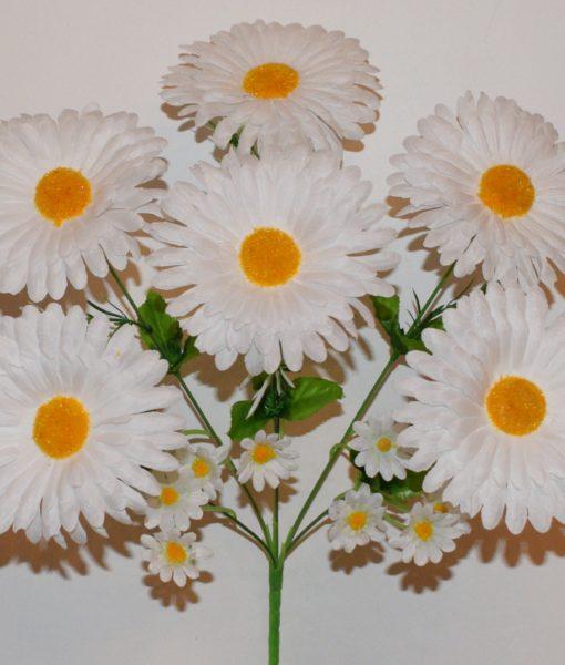 Искусственные цветы -Ромашка с детками 6-ка R-559