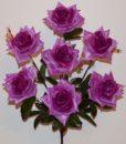 Искусственные цветы -Роза открытая 7-ка R-558