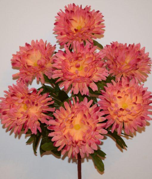 Искусственные цветы —Жоржина сушка 7-ка R-432