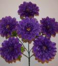Искусственные цветы-Георгина крупная 6-ка  R-573