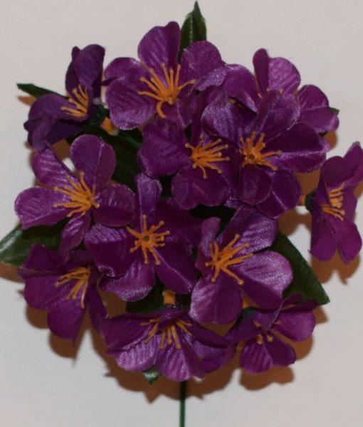 Искусственный цветок -заливка Прымулка атласная 12-ка Z-46