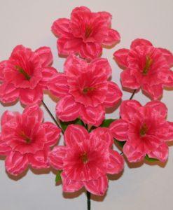 Искусственные цветы- Нарцис атлас 7-ка R-576