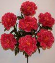 Искусственные цветы-Пион люкс 7-ка R-584