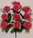 Искусственные цветы-Роза кашка 10-ка непресовка R-876