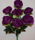 Искусственные цветы -Роза бутон высокая 24 голов R-624