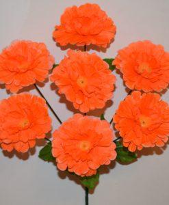 Искусственные цветы-Пиончик 7-ка R-380