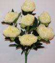 Искусственные цветы -Пион люкс большой 7-ка не прес R-754
